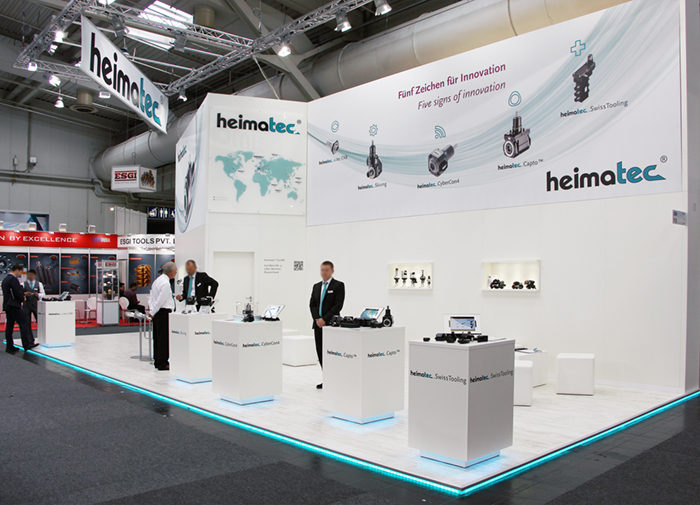 EMO Hannover, Heimatec, 65m²