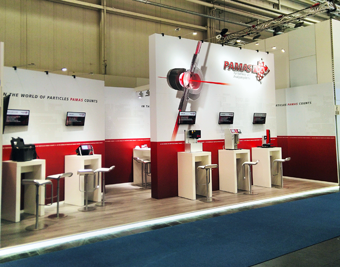 Hannover Messe, PAMAS, 36 m²