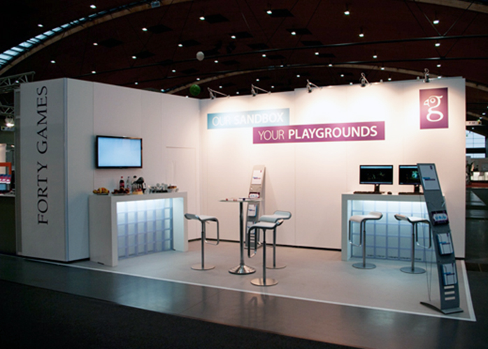 LEARNTEC, Karlsruhe, Forty Games, 21 m²